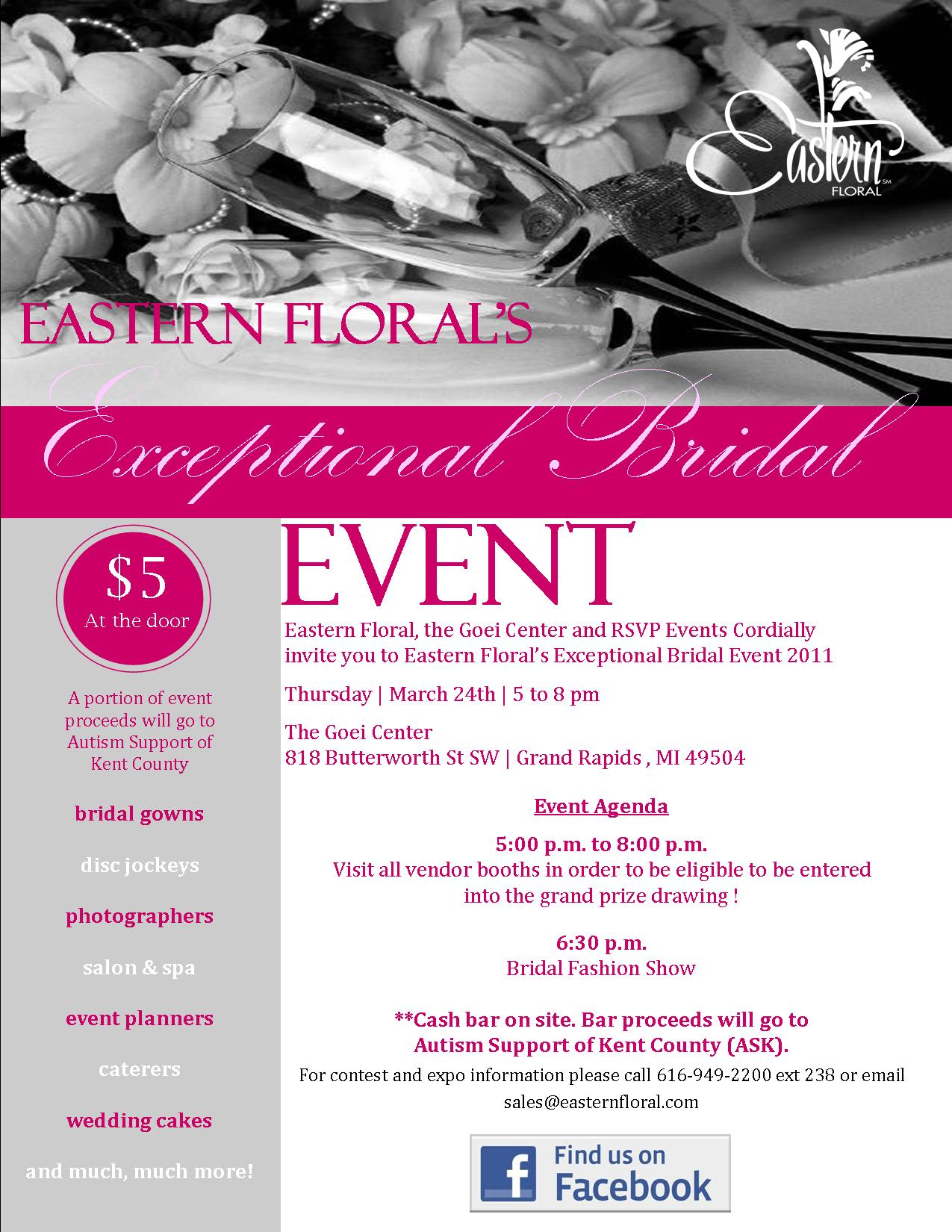 Ad Eastern Floral Connie S Cakes Llc